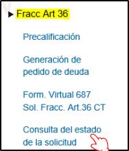 Fraccionamiento-ART36-Consultar-Estado