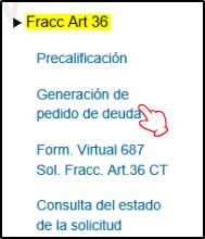 Fraccionamiento-ART36-Generar-Pedido